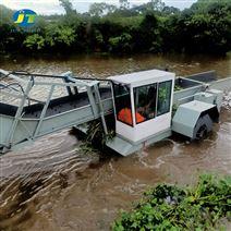 河南景区水面水草收割船割草船保洁船